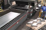 Production Laser Cutting at Schebler Specialty Fabrications
