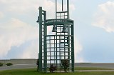 Custom bell tower. Complete tubular fabrication with design, cutting, forming, rolling, welding, paint and installation