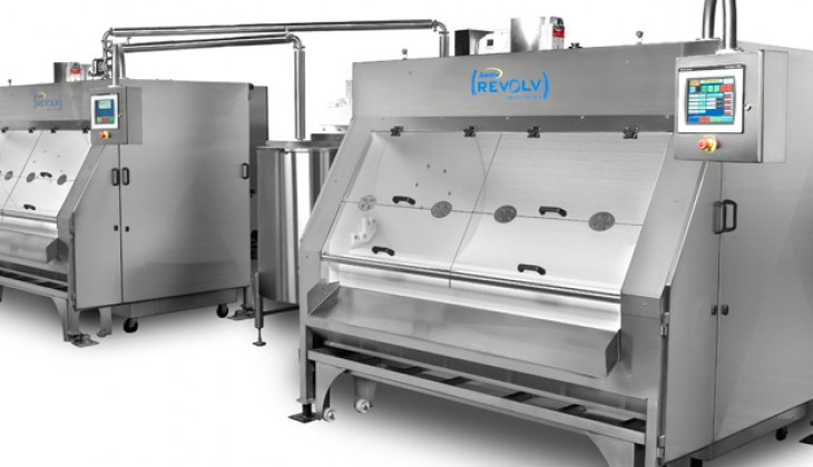 Schebler Revolv® Belt Panning System. Fully designed, fabricated, assembled and installed