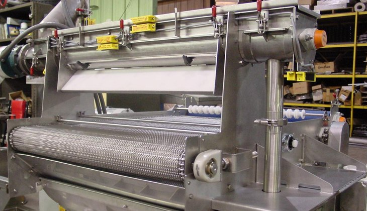 Custom stainless steel food manufacturing machine