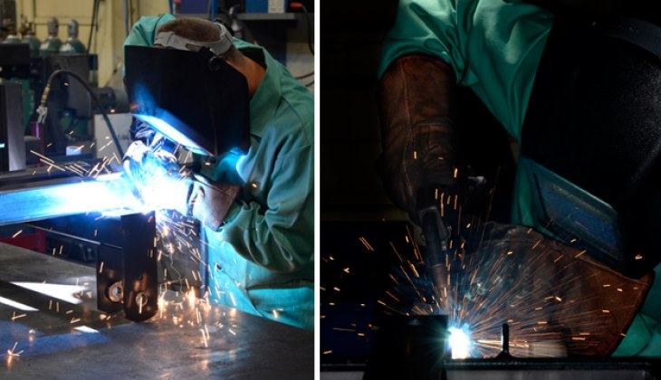 Assembly Welding at Schebler Specialty Fabrication