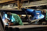 Heavy MIG Welding at Schebler Specialty Fabrication
