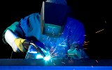 MIG Welding at Schebler Specialty Fabrication thumbnail