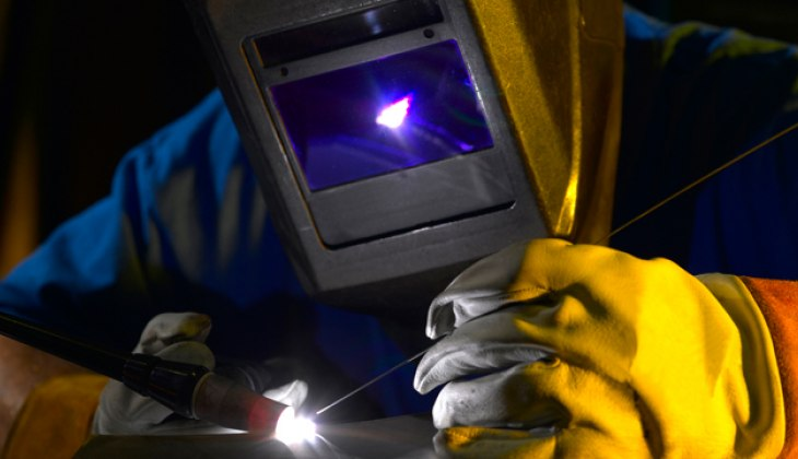 TIG Welding at Schebler Specialty Fabrication