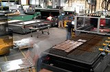 Schebler production laser cutting workcell made at Schebler Specialty Fabrication
