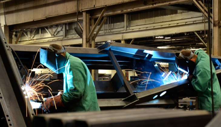 structure fabrication of large parts at Schebler Specialty Fabrication