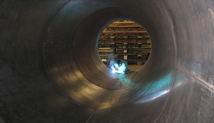 Complex Heavy Rolling at Schebler Specialty Fabrications