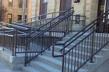 Custom Railing made by Schebler Specialty Fabrications